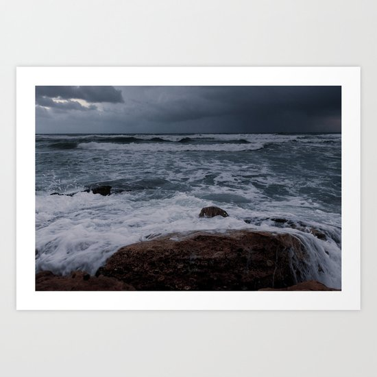 BEACH DAYS XXXII Art Print