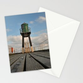 Whitby pier Stationery Cards