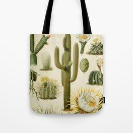 Naturalist Cacti Tote Bag
