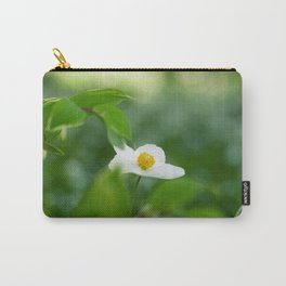 Delicate Wood Anemone Flower Carry-All Pouch