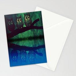 owl-77 Stationery Cards