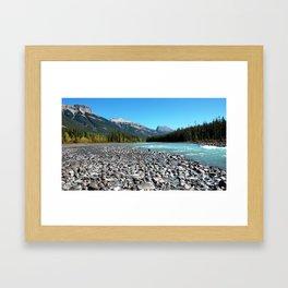 Glacier River Framed Art Print