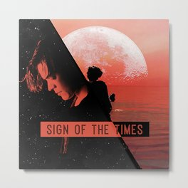 HARRY STYLES - Sign of the Times Metal Print