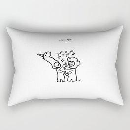 slapfight Rectangular Pillow