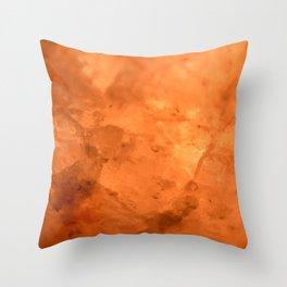Rock Salt Throw Pillow