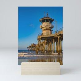 Sunrise Sandpiper Mini Art Print