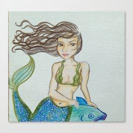 Seaweed Serena Canvas Print