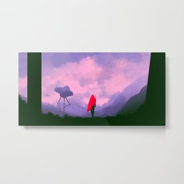 Anomaly in Hue Metal Print
