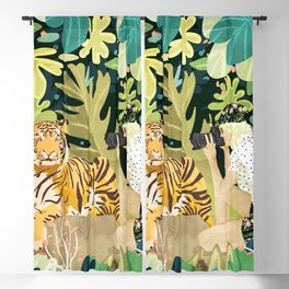 Tiger Sighting Blackout Curtain