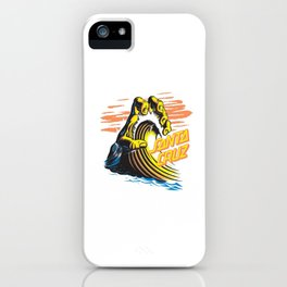 SantaCruz Surf iPhone Case