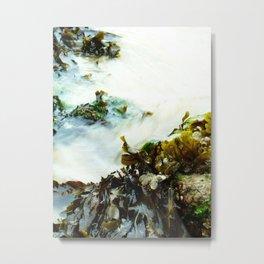 Sea Flow Metal Print