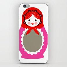 Matrioska-006 iPhone & iPod Skin