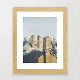 Chim-chiminey Framed Art Print