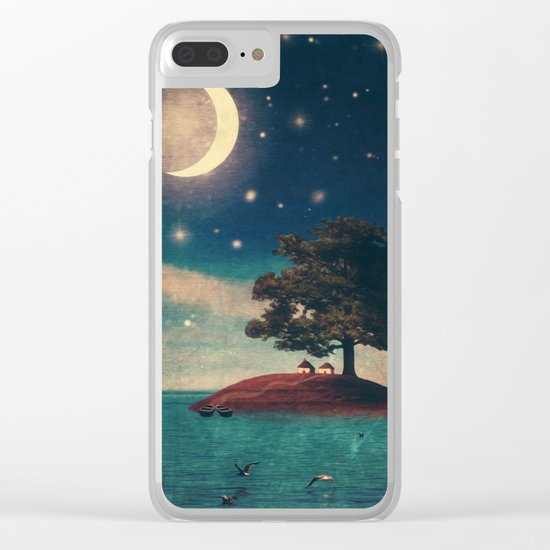A Quiet Place for Two Clear iPhone Case