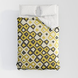 Asymmetry collection: retro shapes and colors Comforters