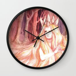 Queen of the Forest Wall Clock