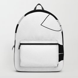 Black and white face Backpack