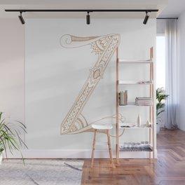 Fancy Z Wall Mural