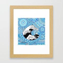 Kanagawa's wave Framed Art Print