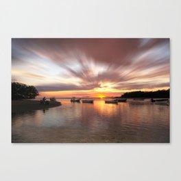 Costa Rica Sunset 007 Canvas Print