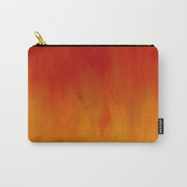 Flames of Gold Carry-All Pouch