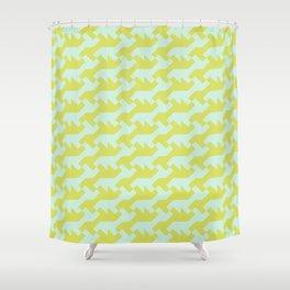 Nintendo .lime Shower Curtain
