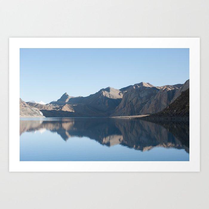 Tilicho Lake Art Print