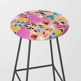 Pink Bunny Bar Stool