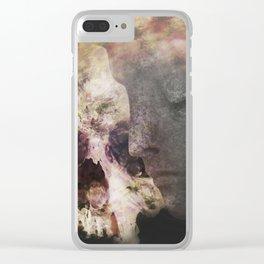 The Undisturbed Sleep Clear iPhone Case