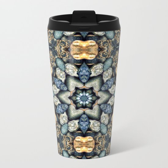 Stone Circle 03 Metal Travel Mug