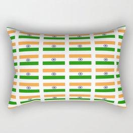 Flag of India 2-indian,mumbai,delhi,hindi,indus,buddhism,hinduism,buddha,gandhi Rectangular Pillow