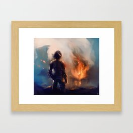 how to train your dragon 2 Framed Art Print