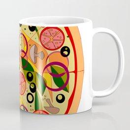 A Veggie Pizza, my Favorite Coffee Mug