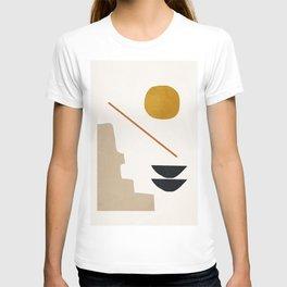 abstract minimal 6 T-shirt