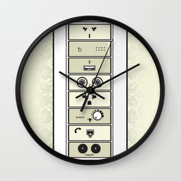 Mysterious Plugs Wall Clock