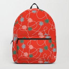 Holiday Pom-Poms Backpack