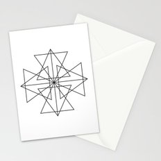 Triangle Love Stationery Cards
