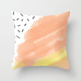 Feline Gum Throw Pillow