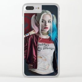 Daddy's little monster Clear iPhone Case