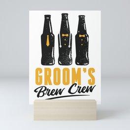Bear Crew Mini Art Print