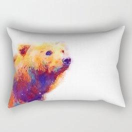 The Protective - Bear Rectangular Pillow