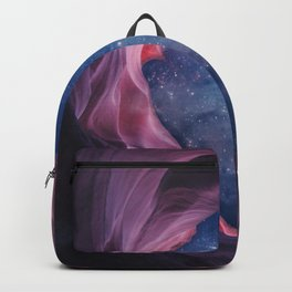 Grand Canyon with Space Collage Backpack