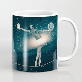 The Cosmic Game of Balance or Universe Ballerina Coffee Mug