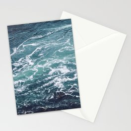 Ocean Photography | Sea | Blue Water | Seascape | Aqua Stationery Cards