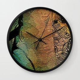 IN HER SKIN DARK Wall Clock