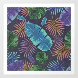Moody Botanical Watercolor 2.0 Art Print