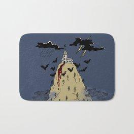 Black moon castle Bath Mat
