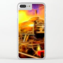 The Flying Scotsman Clear iPhone Case
