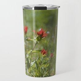 Indian Paintbrush Painterly Travel Mug