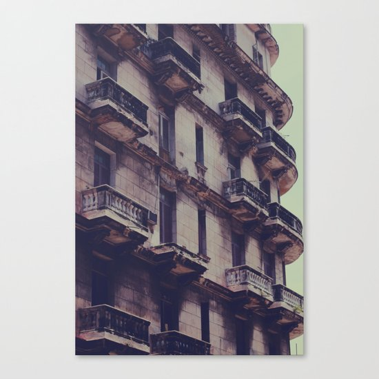 missing balcony Canvas Print